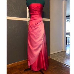 2e140d814f3e Dresses & Skirts - Elegant Rose Inspired Strapless Full Length Prom